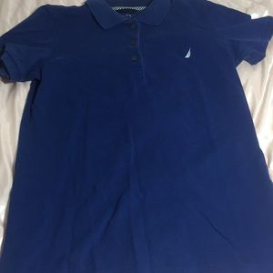 Navy blue nautica polo